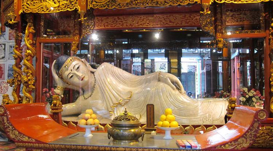 El templo de Buddha del jade